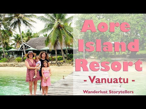 Fun at Aore Island Resort on pretty Aore Island in Vanuatu