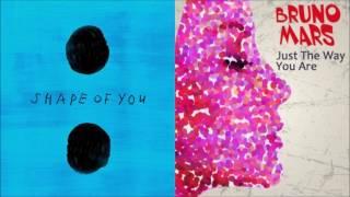 Just the Shape of You - Ed Sheeran vs Bruno Mars (Mashup)