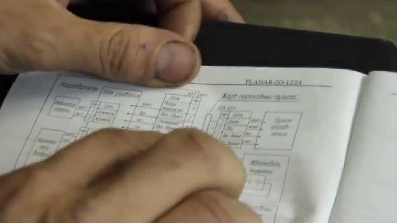 Купить блок управления сб. 2618 12в планар 2д