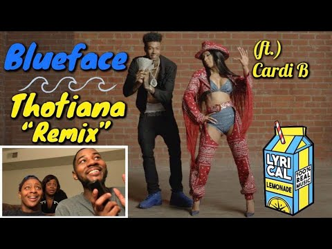 Blueface - Thotiana Remix ft Cardi B Dir by ColeBennett 🔥 REACTION