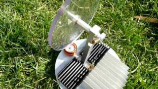 moteur stirling solaire