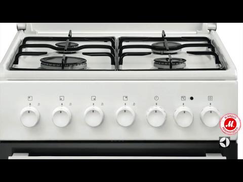 Газовая плита с электрической духовкой Electrolux EKK951301W