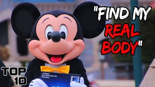 Top 10 Scary Thİngs Told By Disney Employees   Marathon