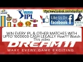 Get THIS IPL 2017 Dream 11Pro App & EARN 10000000 Every Game Explained!!