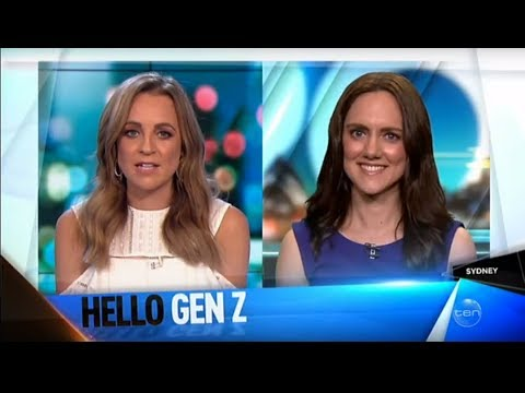Claire Madden | Hello Gen Z | The Project | October  2017