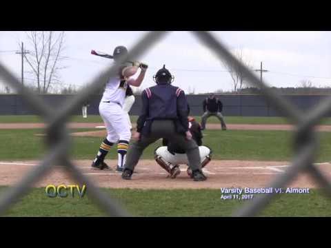 Varsity Baseball vs. Almont 4-11-17