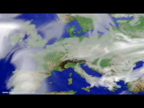 Cloud forecast Europe 2017-05-18