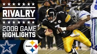 Steelers Edge Cowboys in Cold Classic | Game Highlights (Week 14, 2008) | NFL