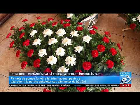 Românii nu își pot îngropa morții în mod legal