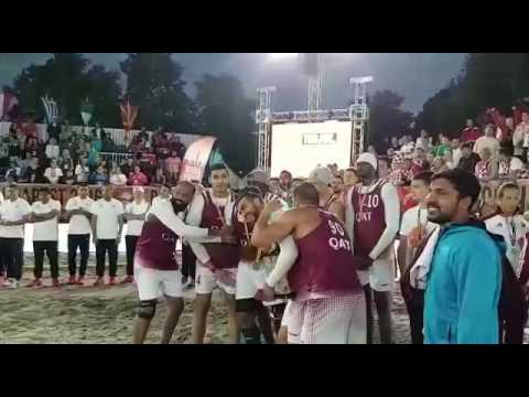 Best beach handball goalkeeper in the world - Budapest 2016  ( MOHSEN ALYAFEAI ) QATAR