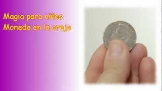 Magia, Moneda en la oreja explicada