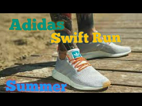 213ec33f7 Adidas swift run Summer...Review+on feet - YouTube