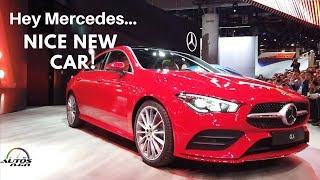 2020 Mercedes-Benz CLA World Premiere at CES Las Vegas 2019