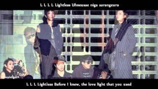 BEAST \ B2ST - 비스트 - LIGHTLESS - ROMANIZATION AND ENGLISH SUB [HD]