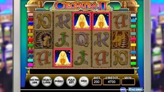 IGT - Slots Cleopatra II Gameplay