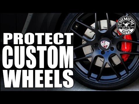 How To Protect Custom Wheels - Porsche Panamera - Chemical Guys