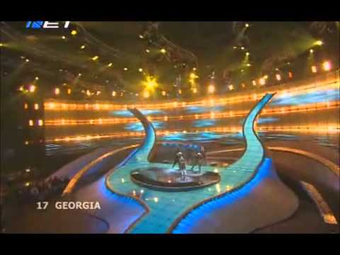 Diana Gurtskaya - Peace Will Come (Eurovision 2008 - Georgia) Broadcasting by ERT