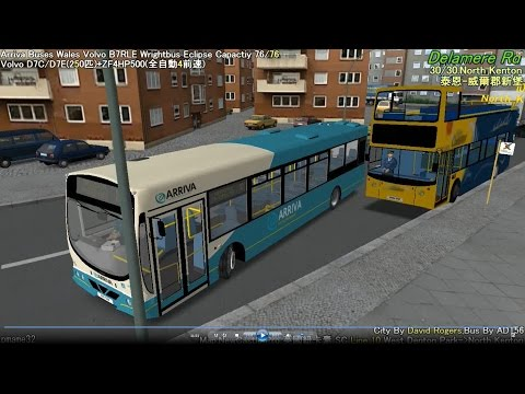 Omsi 2 tour (558) NewCastle bus 10 West Denton Park - North Kenton @ Volvo B7L Wright Eclipse