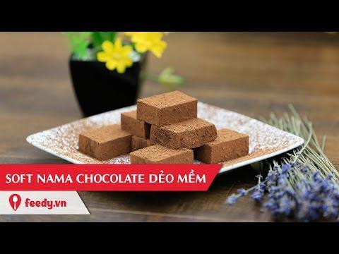 Hướng dẫn cách làm soft nama chocolate cực ngon - Soft Nama Chocolate