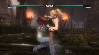 Mila vs Sarah Dead or Alive 5 Last Round Xbox One 1080 60fps