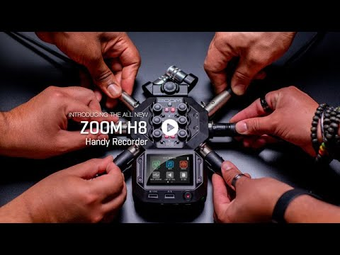 The Zoom H8 Handy Recorder