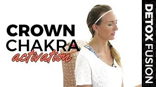 Detox Yoga Fusion Day 11:  Crown Chakra Activation - Kundalini Yoga Kriya (35-Min)