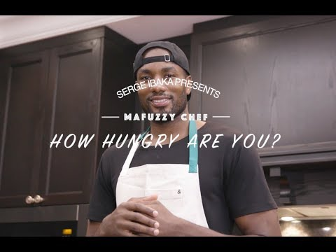 """Serge Ibaka presents: """"How hungry are you?"""" 