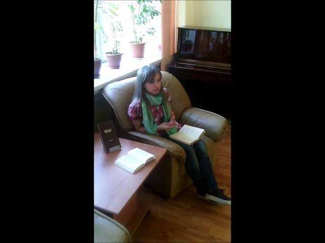 Изображение предпросмотра прочтения – ЮлияМиниахметова читает произведение «К счастливым» В.Я.Брюсова