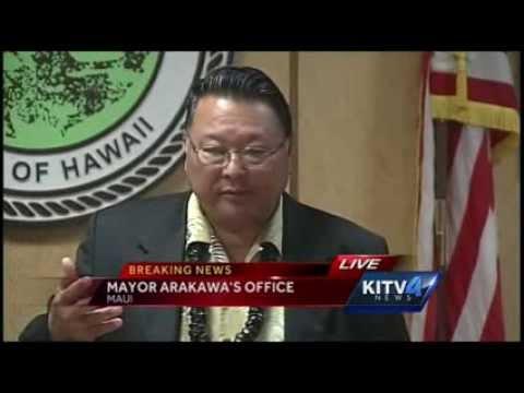 Maui County press conference on Lanai plane crash