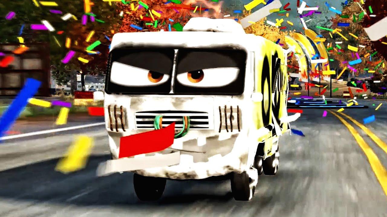 Cars 3 Driven to Win - Arvy Van