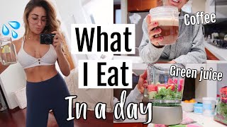 What I eat in a day (HEALTHY /HOW I STAY LEAN) Vegetarian 2018