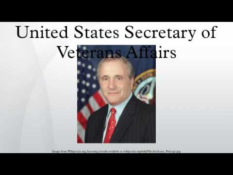 United States Secretary of Veterans Affairs