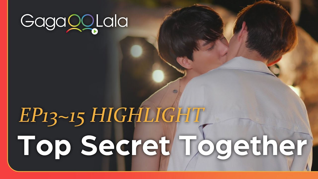"""Download A proposal, a conversation, a kiss... all in the last 3 episodes of Thai BL """"Top Secret Together""""!"""