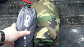 Bug out Gear- Bivy Sacks - OR Micro night vs USGI
