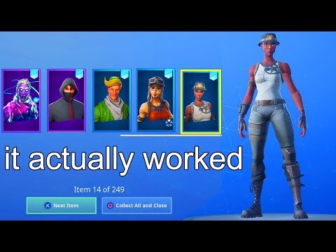 I Tried Merging RECON EXPERT Fortnite Account With RENEGADE RAIDER And It Worked..