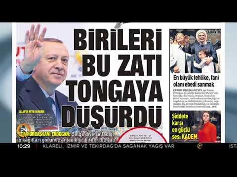 Sabah Gazetesi'nin bugünkü manşeti 03.12.2017