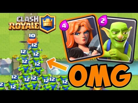 Clash Royale - LE SUPER COMBO ! Gros Gameplay à plus de 4000 Trophées !