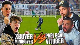 XBUYER & MINIBUYER vs PAPIGAVI & VITUBER *humillación*