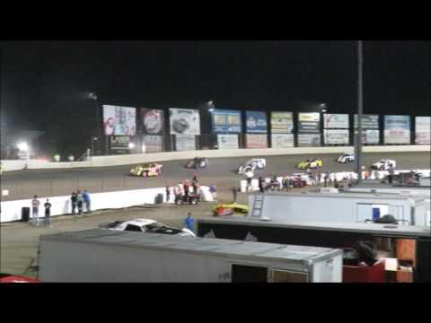 I 55 Raceway 9 17 2016 A Mod Heat Race #1 & A Mod Feature Dave Armstrong #34