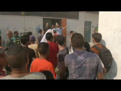 Greece struggles with migrant influx - no comment