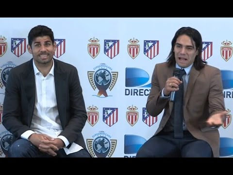 Falcao Signs For Chelsea And Argues With Diego Costa At Press Conference!*