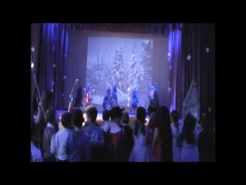 """Новогоднее театрализованное представление для детей """"Баба  Яга и  Новый  год"""". Бродокалмакский СДК"""