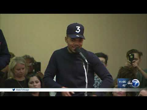 Chance the Rapper speaks against police academy plan
