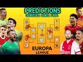 Predicting the rest of this Europa League season! Who will the winner be?