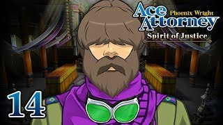 BODACIOUS BEARD - Let's Play - Phoenix Wright: Ace Attorney: Spirit of Justice - 14 - Playthrough