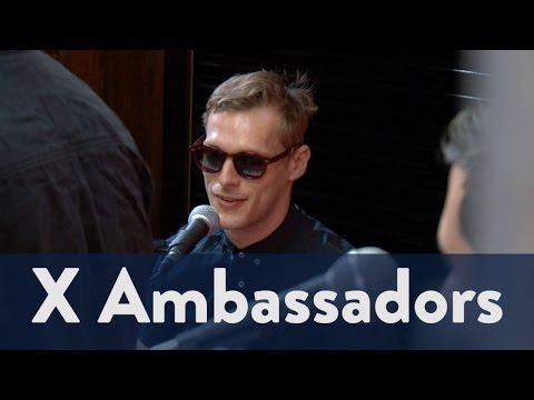 X Ambassadors' Casey Harris is Legally Blind | KiddNation 4/4