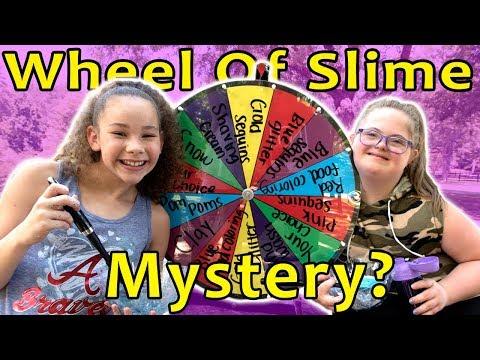 Mystery Wheel of Slime! (Sarah Grace & Olivia Haschak)