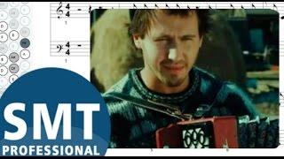 Как играть на баяне Комбайнеры | How to play Сombiners on accordion | SMT Pro