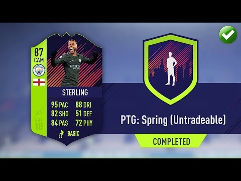 PTG: SPRING UNTRADABLE SBC! (CHEAP/EASY) | FIFA 18 Ultimate Team