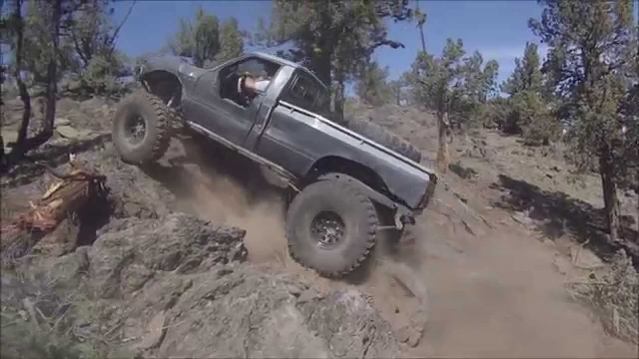 Ryan S 1st Gen Toyota On 39s Rock Crawling At Cline Butte